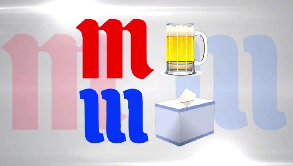 Frame 3.822115 de: Una fuerza política y una cervecera comparten un logotipo muy parecido