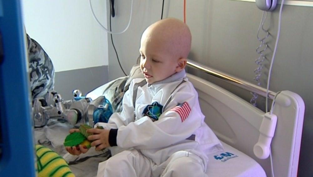El Hospital Gregorio Marañón inaugura una 'estación lunar' en su planta de Oncología pediátrica