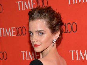 Emma Watson en una de sus apariciones públicas