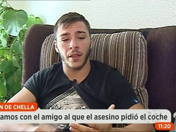 """Frame 48.847338 de: El mejor amigo del asesino de Chella: """"Cuando apareció el cadáver de Vanessa comencé a sospechar de Rubén"""""""