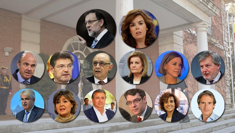 La composición del nuevo Gobierno de Mariano Rajoy