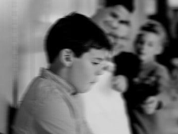 Recreación de un momento de acoso escolar