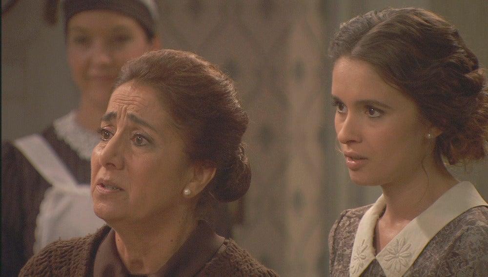 Rogelia regresa a Puente Viejo preocupada por Hernando