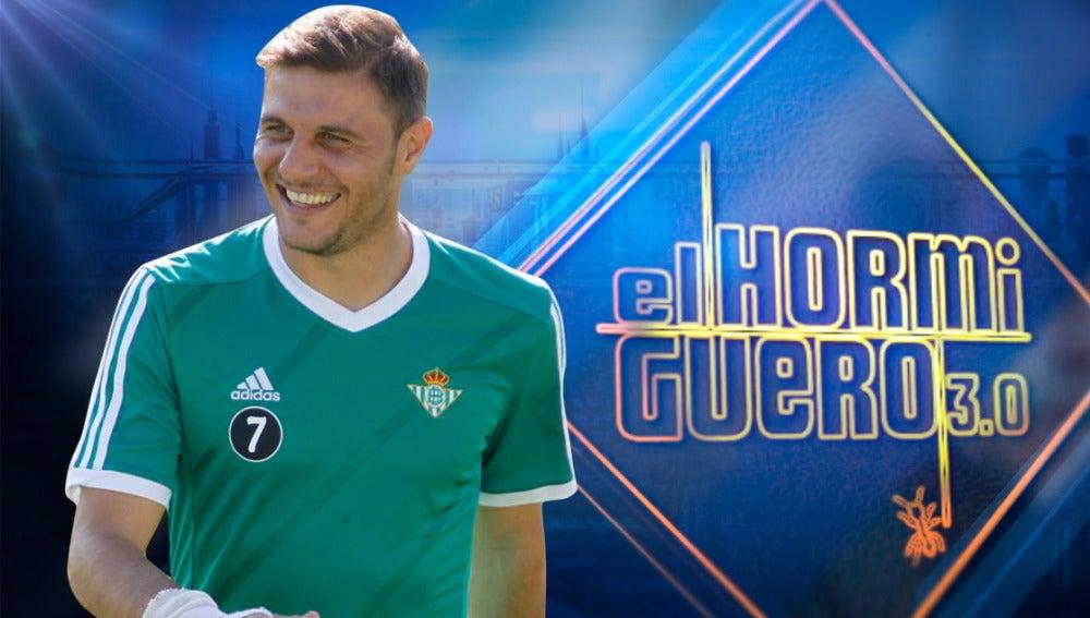 Joaquín, el capitán del Betis, visita 'El Hormiguero 3.0'