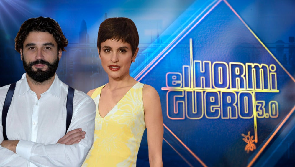 Verónica Echegui y Álex García