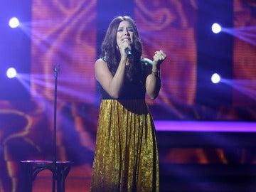 Lorena Gómez conmueve con '90 minutos' de India Martínez