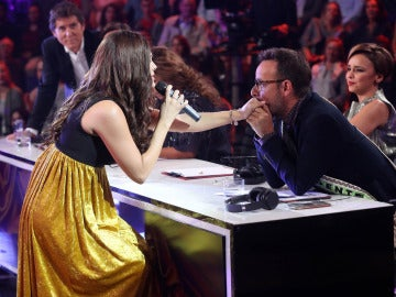 Lorena Gómez se corona como la ganadora la quinta gala de 'Tu cara me suena'