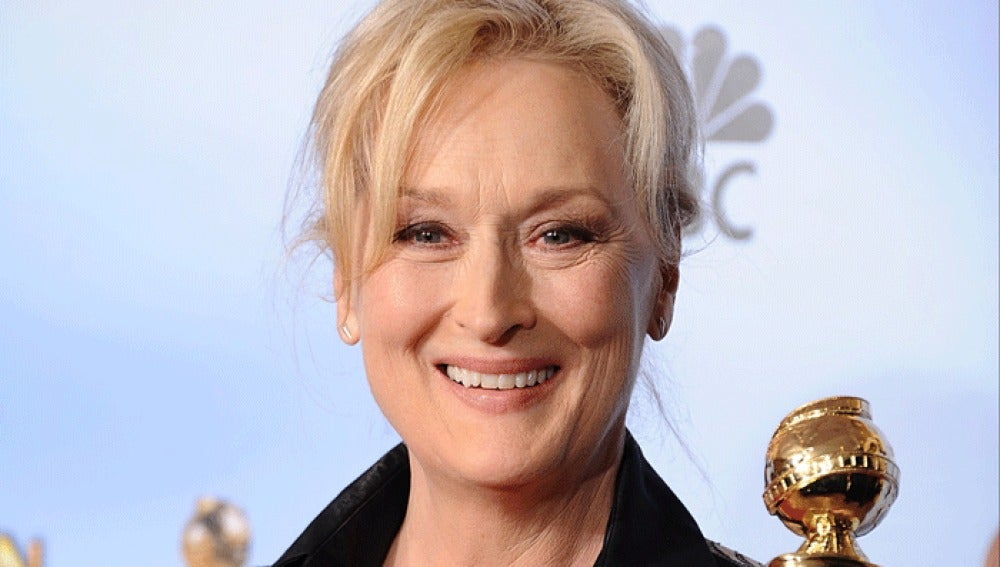 Meryl Streep en los Globos de Oro