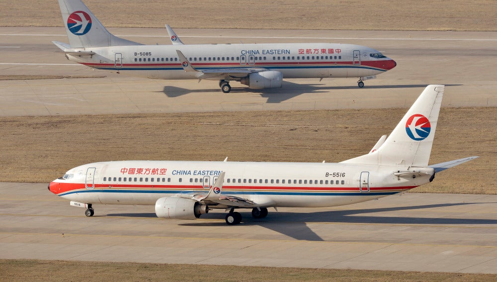 Aviones de la aerolínea China Eastern