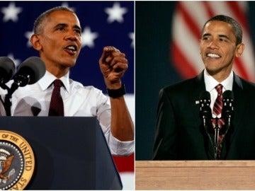 El antes y el después de Barack Obama