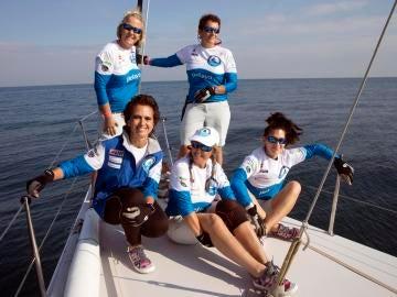Las cinco mujeres que cruzan el atlántico a vela