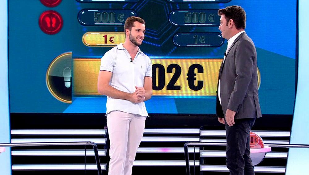 ¿Conseguirá este concursante llevarse los 100.000 € de 'Ahora Caigo'?