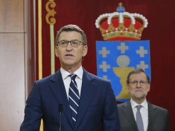 Alberto Núñez Feijóo promete su cargo