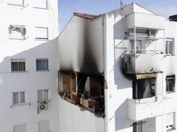 Explosión de gas en una vivienda en Zaragoza