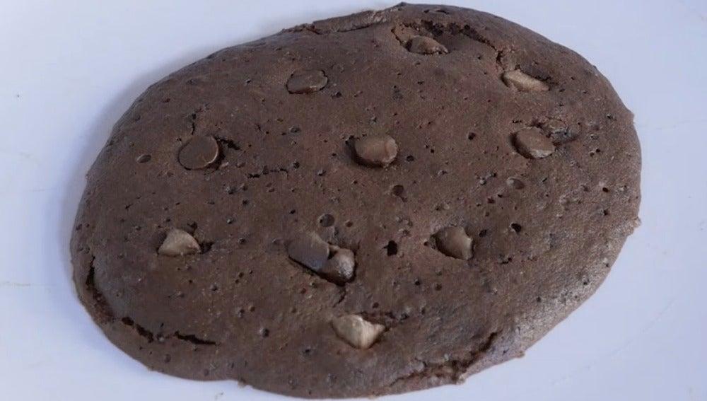 Galletaza de brownie. Rica rica.