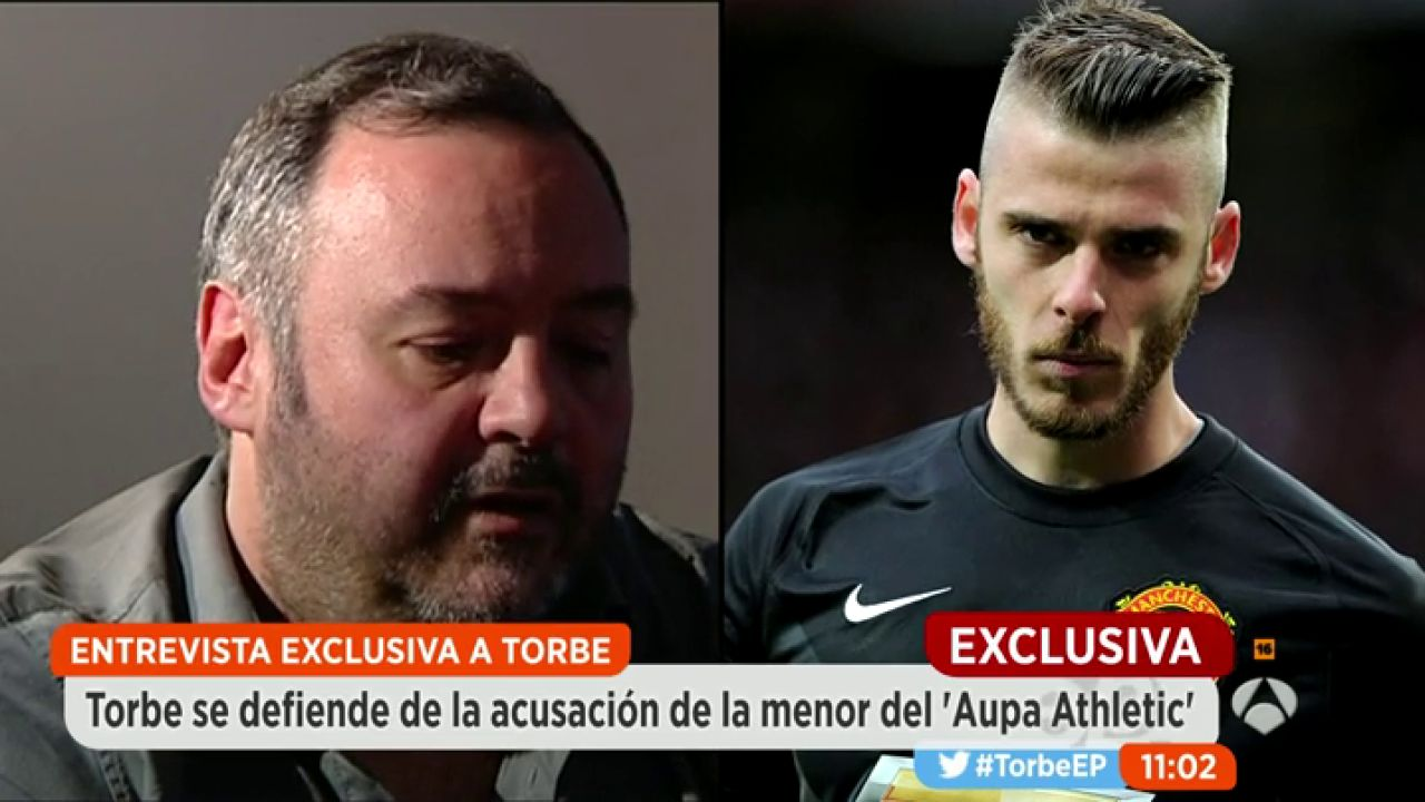 """Aupa Atletic Video Porno torbe: """"le mandamos el vídeo de la chica a de gea y a otros tres  futbolistas"""""""