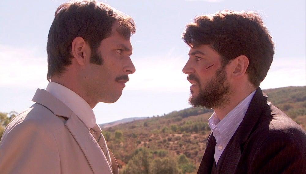 Néstor y Hernando, dos hombres para una sola mujer