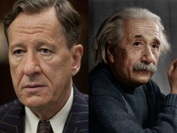Geoffrey Rush se convierte en Albert Einstein en 'Genius'
