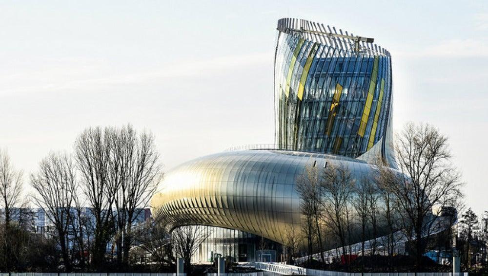La Cité du Vin de Burdeos