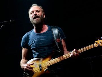 El cantante británico Sting