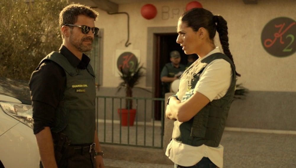 Héctor y Lola liberarán a las chicas que Pilar retenía en el zulo