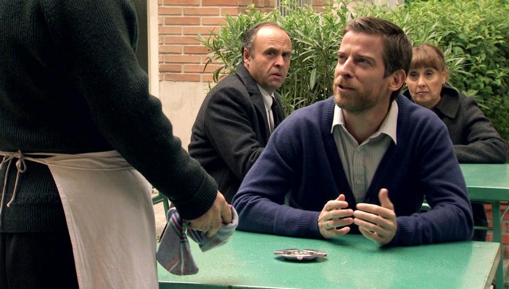 Marcelino se convierte en el cliente más cascarrabias de 'El Asturiano'