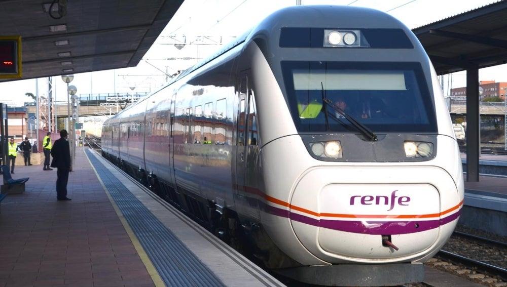 Un tren de Renfe
