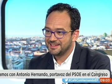 """Hernando: """"Me excedí cuando dije que abstenerse es una traición a los votantes, me critico a mí mismo"""""""