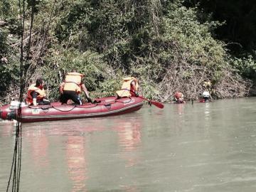 Agentes del Grupo Especial de Actividades Subacuáticas (GEAS) de la Guardia Civil (Archivo)