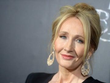 J.K. Rowling en el preestreno de 'Animales fantásticos' en Nueva York
