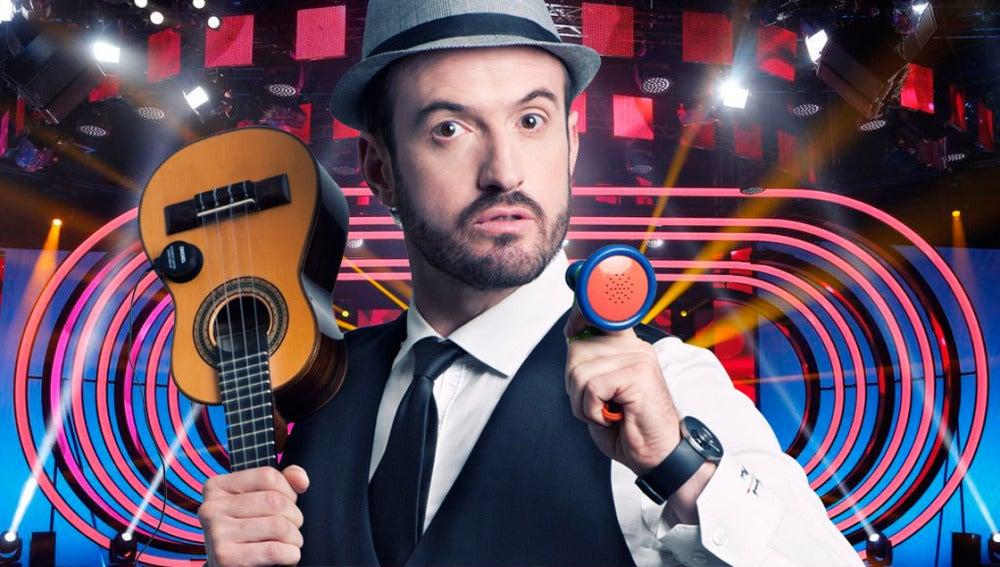 El humor y la música unidos por Alex O'Dogherty en 'Tu cara me suena'