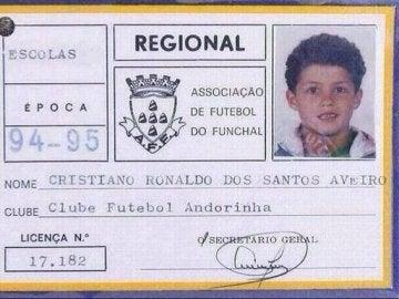 La licencia de Cristiano en su primer equipo