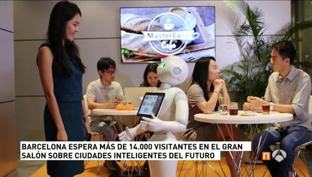 Robot en la Fira de Barcelona
