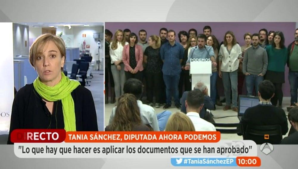 Tania Sánchez