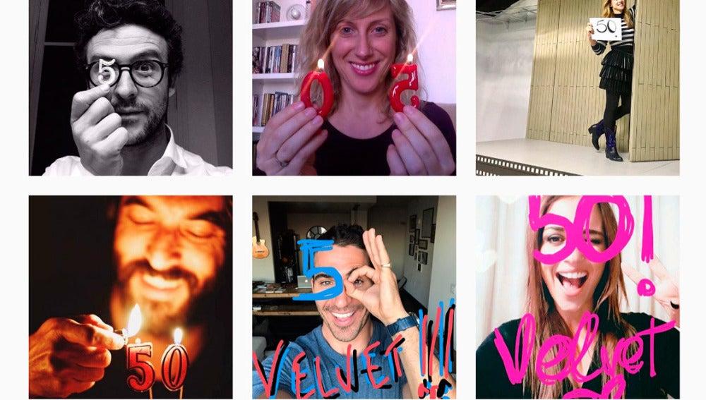 Los actores de Velvet celebran contigo los 50 capítulos de Velvet