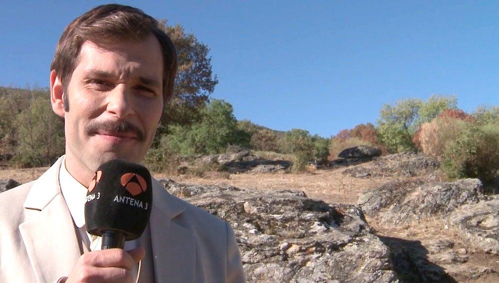 """Maikol Hernández: """"No quiero que se acabe mi paso por Puente Viejo"""""""