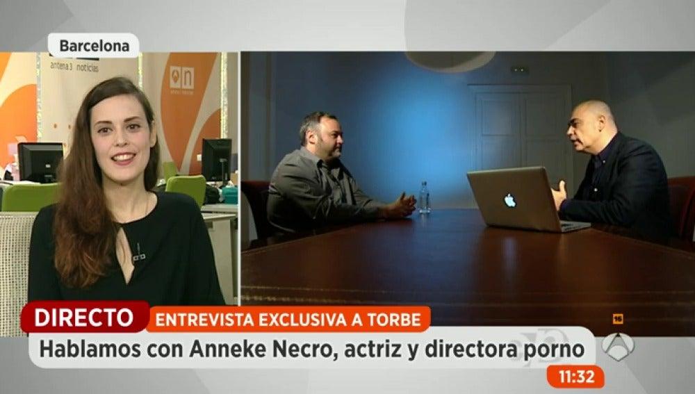 """Frame 27.08668 de: Anneke Necro: """"Me parece muy difícil que una menor de edad haya podido engañar a Torbe"""""""