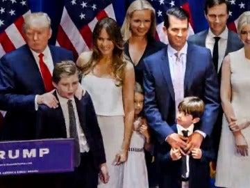 Frame 32.365847 de: La implicación de los hijos en el equipo de transición en la Casa Blanca plantea un conflicto de intereses