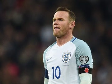 Wayne Rooney, en un partido con Inglaterra