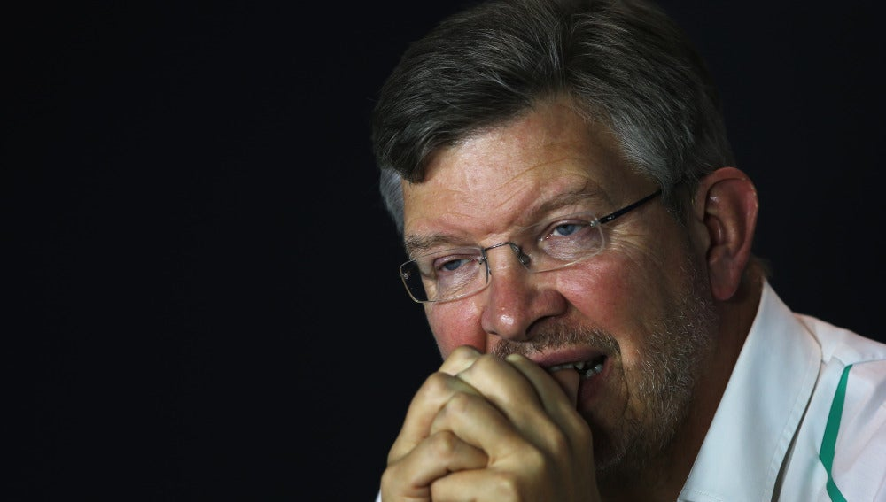 Ross Brawn, en su época en Mercedes