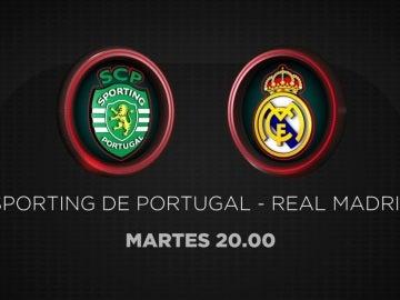 Sporting de Portugal-Real Madrid, en Antena 3 y Atresplayer