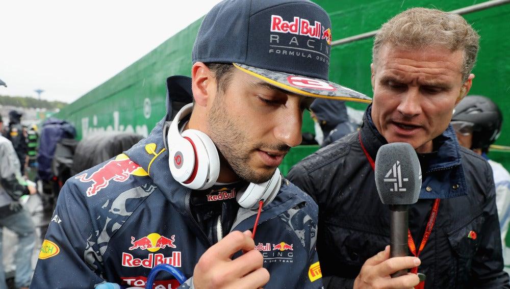 Daniel Ricciardo, en el GP de Brasil