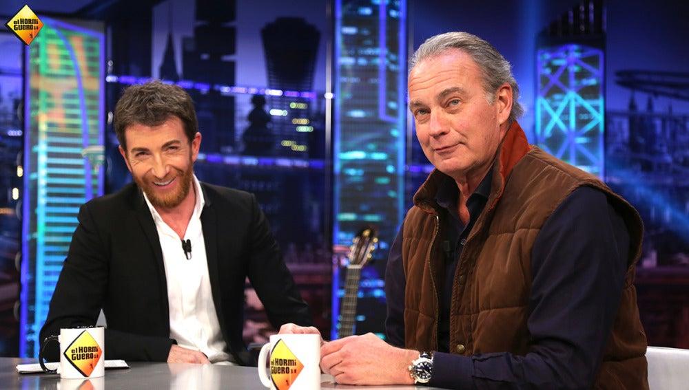 Bertín Osborne confiesa cuál fue su relación con uno de los mayores narcotraficantes de Colombia