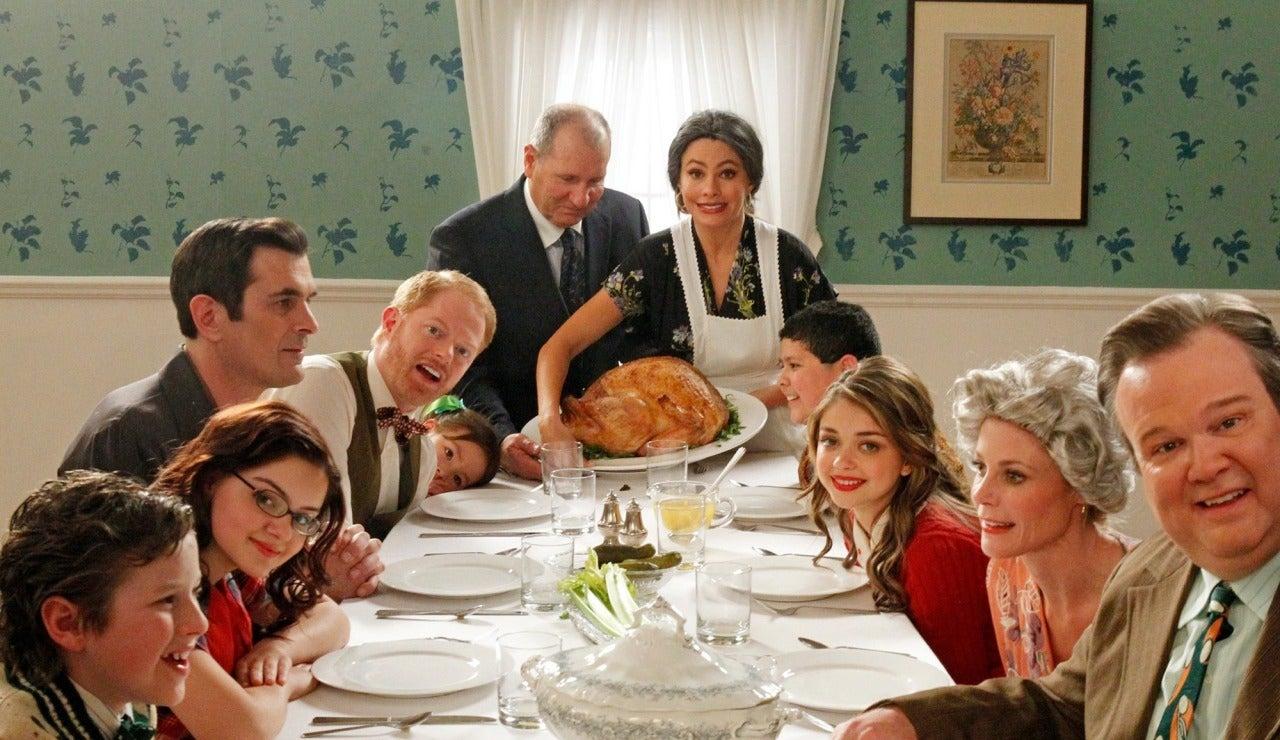 Acción de Gracias con 'Modern Family'