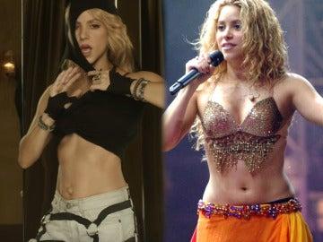 El cambio en el ombligo de Shakira