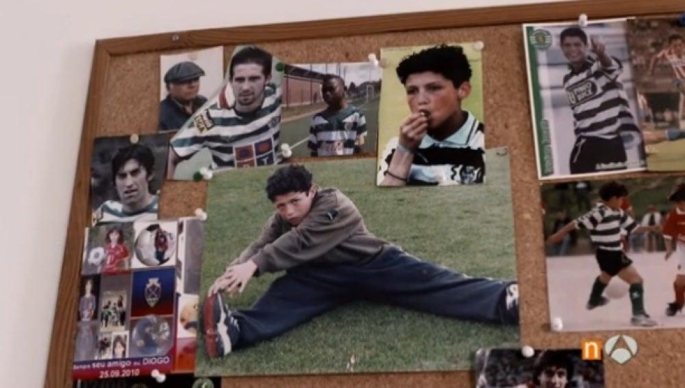 Imágenes de Cristiano Ronaldo cuando era un niño