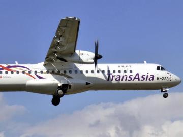 Un avión de la compañía TransAsia