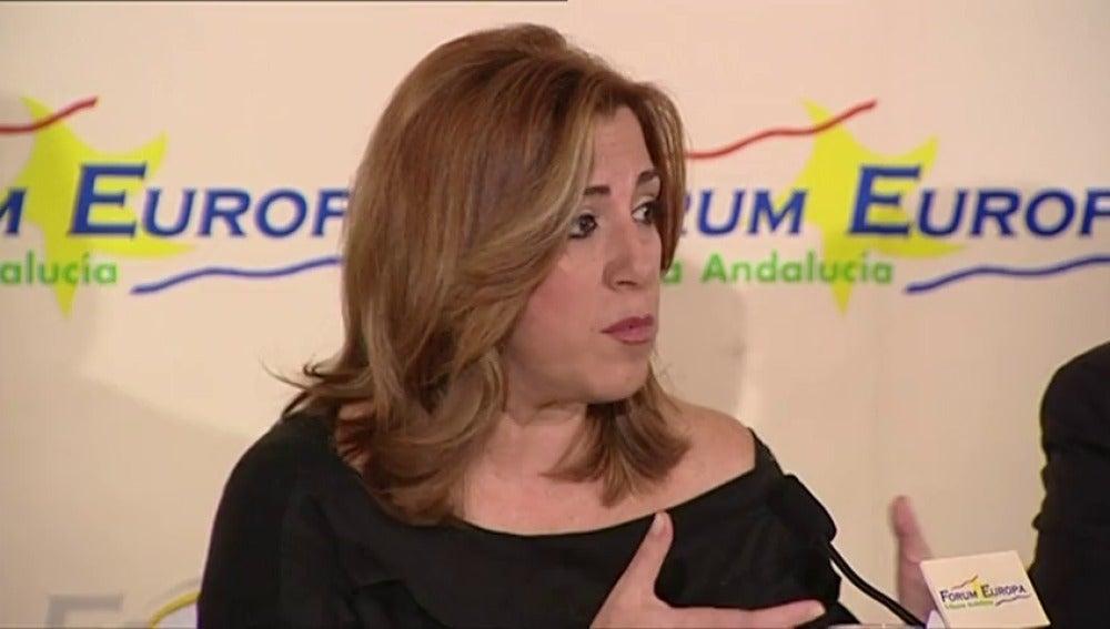 """Frame 1.998228 de: Susana Díaz: """"el Gobierno de la Nación no va a cambiar la regla de gasto"""""""