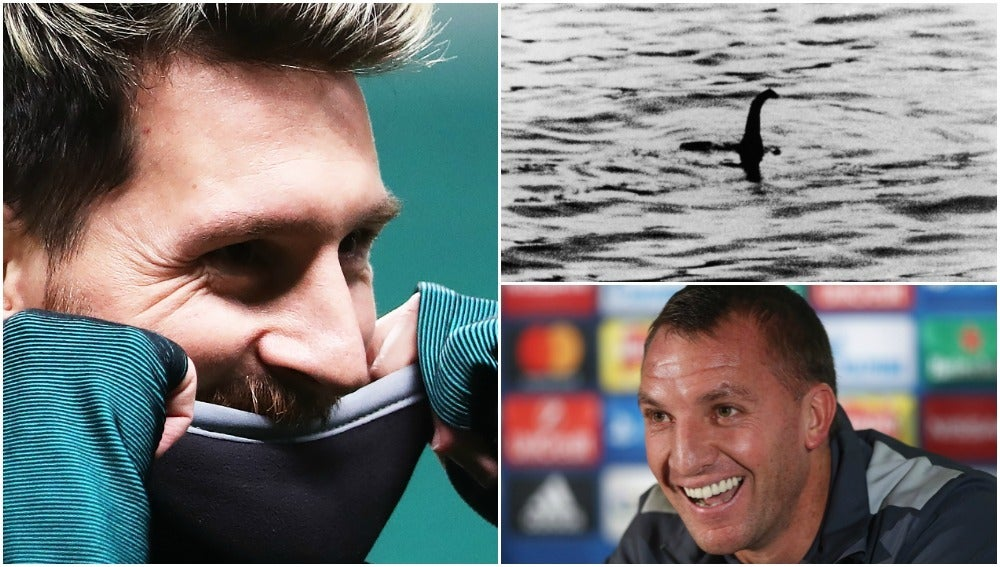 Brendan Rodgers, Messi y el monstruo del Lago Ness: ¿la pregunta más surrealista del mundo?