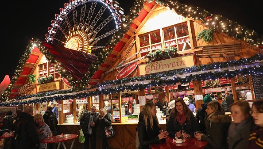 Mercadillo navideño en Berlín